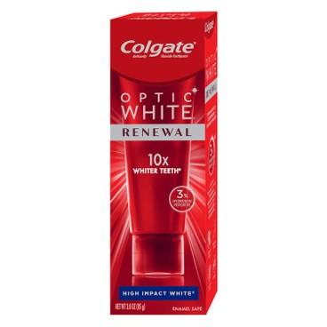 COLGATE - Optic White renewal Lasting Fresh Toothpaste - 85G
