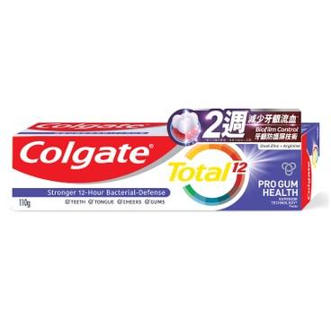 COLGATE - Total professional Gum Health Toothpaste - 110G