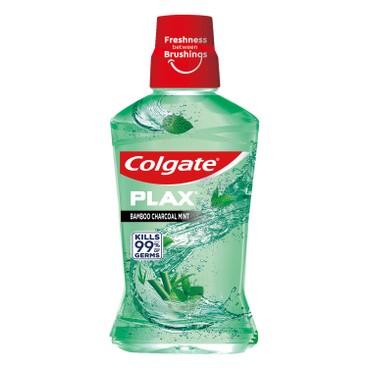 COLGATE - Plax Mouthwash charcoal Mint - 1L
