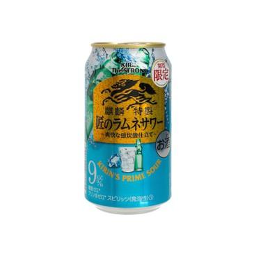 麒麟 - 特製梳打酒 - 波子汽水 - 350ML