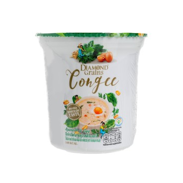 泰鑽燕麥 - 快熟燕麥粥杯-菠菜雞蛋 - 35G