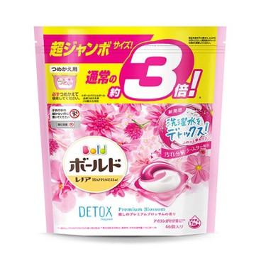 BOLD - 3合1 洗衣膠囊-淡雅花香 - 46'S