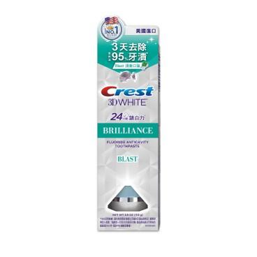 CREST - 3D 閃亮白專業美白牙膏-冰爽薄荷味 - 116G
