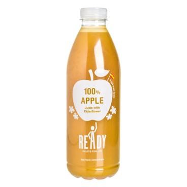 READY - 100% 純蘋果汁含接骨木花精華-非濃縮 - 1L