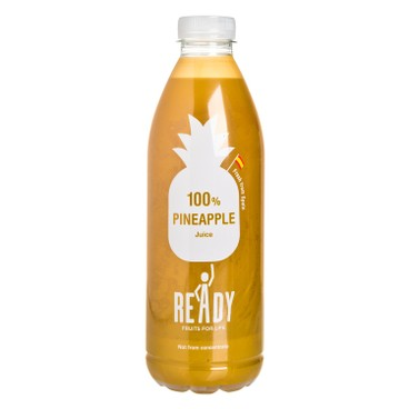 READY - 100% 純菠蘿汁-非濃縮 - 1L