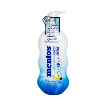 MENTOS - Body Wash Blue Mint - 500ML
