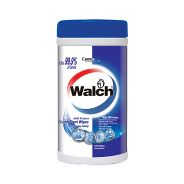 WALCH - Wet Wipes High Efficiency - 75'S