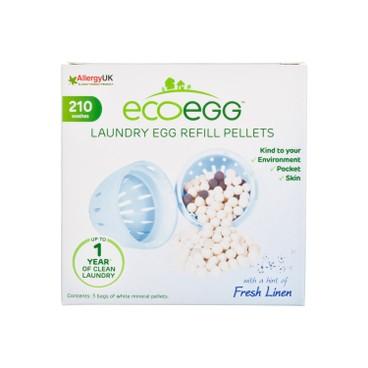 ECOEGG - 離子去污環保洗衣蛋補充裝-清新香味 - 3'S