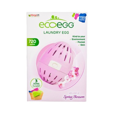 ECOEGG - 離子去污環保洗衣蛋-春日花開味(720次裝) - PC