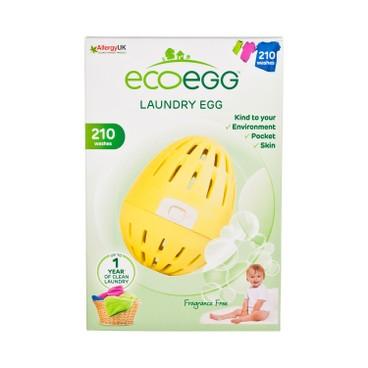 ECOEGG - Laundry Egg Fragrance Free 210 Washes - PC
