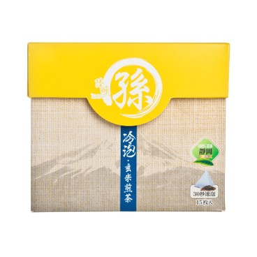 LUK YU - Cold Brew Japanese Roasted Rice Sencha Teabags - 15'S
