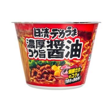 NISSIN - Big Cup Noodle dekauma Shoyu Ramen - 116G