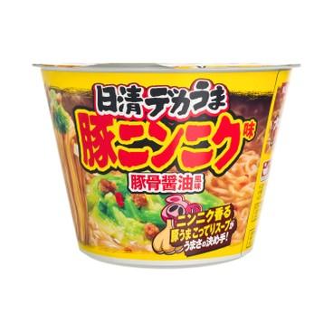 NISSIN - Big Cup Noodle dekauma Buta Garlic Ramen - 111G