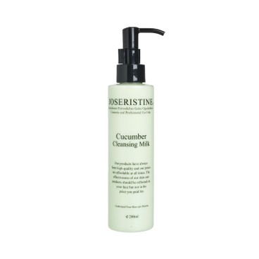 JOSERISTINE BY CHOI FUNG HONG - Cucumber Cleansing Milk - 200ML