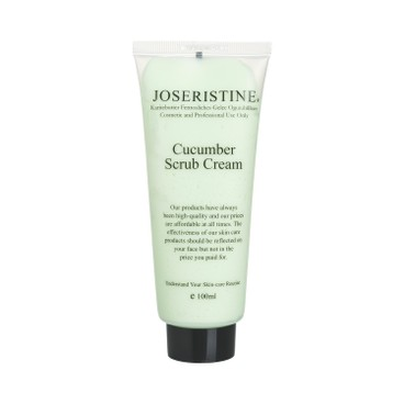 JOSERISTINE BY CHOI FUNG HONG - Cucumber Scrub Cream - 100ML