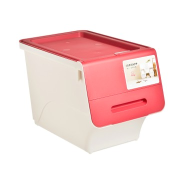 SANKA - FROQ揭蓋儲物膠箱-紅色-細 - PC