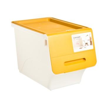 SANKA - FROQ揭蓋儲物膠箱-黃色-細 - PC