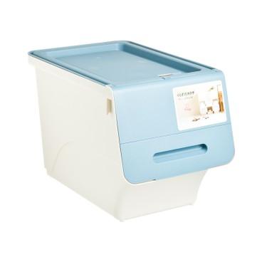 SANKA - FROQ揭蓋儲物膠箱-藍色-細 - PC