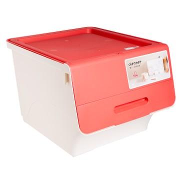 SANKA - FROQ揭蓋儲物膠箱-紅色-中 - PC
