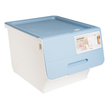 SANKA - FROQ揭蓋儲物膠箱-藍色-中 - PC