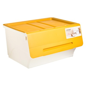 SANKA - FROQ揭蓋儲物膠箱-黃色-大 - PC