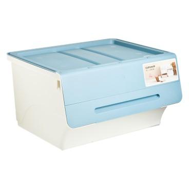 SANKA - FROQ揭蓋儲物膠箱-藍色-大 - PC