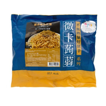 MINIKA - Konjac Noodle ginger Sesame Oil 3 s - 549G