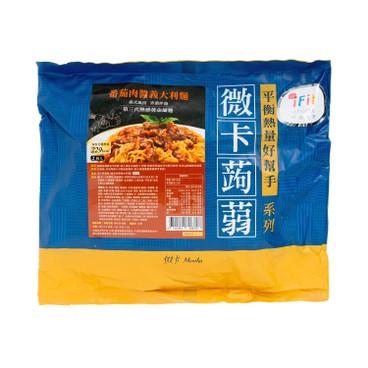 MINIKA - Konjac Spaghetti minced Pork With Tomato Sauce 2 s - 580G