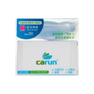 CARUN卡倫 - (舒敏嬰兒孕婦)天然特溫和保濕肥皂水油平衡-送起泡網 禮品裝 - 100G+PC