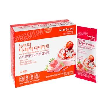 THE BAGEL - Nutri D day Milkshake strawberry - 25GX14