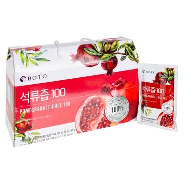 BOTO - 100%紅石榴汁 - 80MLX30