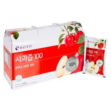BOTO - 100% 蘋果汁 - 100MLX30