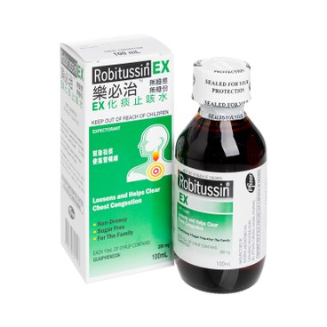 ROBITUSSIN - Ex Syrup - 100ML