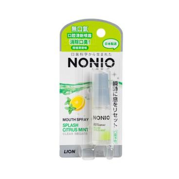 獅王NONIO - 口腔清新噴霧-柑橘薄荷味 - 5ML