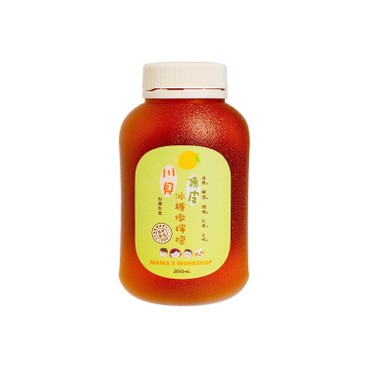 MAMA WORKSHOP - LEMON WITH OLD TANGERINE, CHUAN BEI AND ROCK SUGAR - 350ML