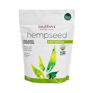 NUTIVA - Organic Hemp Seeds - 12OZ