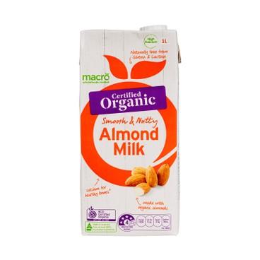 MACRO - Organic Almond Milk - 1L