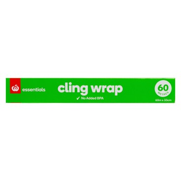 COUNTDOWN - Homebrand Plastic Wrap Cling - 60M