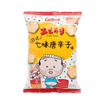 CALBEE - Ebikari Shichimi Flavoured Prawn Chips - 50G