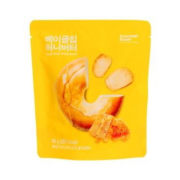 GOURMET BAGEL - 貝果片 - 蜜糖牛油味 - 60G