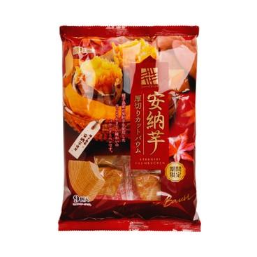 MARUKIN 丸金 - 厚切蛋糕-甜薯 - 230G