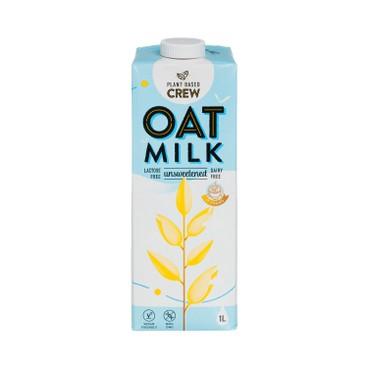 PLANT-BASED CREW - Oat Milk Unsweetened - 1L