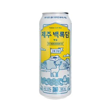 JEJU BEER - Craft Beer Jeju Baengokdam Ale - 500ML