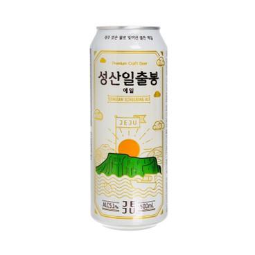 JEJU BEER - Craft Beer Jeju Seongsan Ilchulbong Ale - 500ML