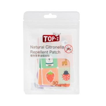 TOP-Z - Mosquito Repellent Patches - 30'S