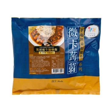 MINIKA - Konjac Rice black Pepper Beef Brisket 2 s - 300G