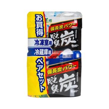 雞仔牌 - 脫臭炭吸味劑 - 雪櫃/冰格用 - SET