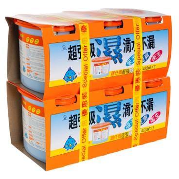 雞仔牌 - 抽濕器(3個裝)(優惠孖裝) - 450MLX3X2