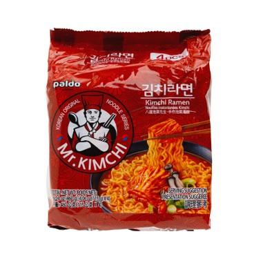 PALDO - Mr Kimchi Ramen - 115GX4