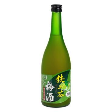 麻原酒造 - 狭山茶梅酒 - 720G